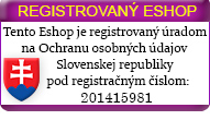 REGISTROVANÝ E-SHOP